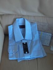 BAG 32) MARKS AND SPENCER MEN'S TAILORED COTTON RICH SHIRT