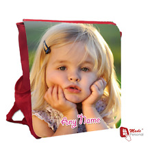 PERSONALISED GIRLS PHOTO BACKPACK BAG - Gift- Any Photograph & Name