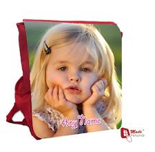 Personalizado Chicas Mochila Bolso foto-regalo-cualquier fotografía & Nombre