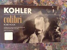 KOHLER Colibri ROBE HOOK K-10510-47 ALMOND COLOR