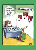 Complainers 12 Funny Boxed Christmas Cards by Nobleworks