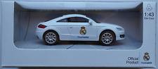 "NewRay - 2007 Audi TT weiß ""Real Madrid"" 1:43 Neu/OVP Modellauto"