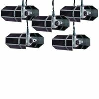 Disney Star Wars Tie Fighter Christmas Light Set Kurt Adler 10 Count String