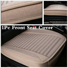 1x Universal Car Linen Seat Cover Pad Auto Seat Cushion For Interior Accessories