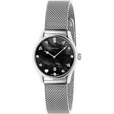 843c5bb6f55 New Gucci G-Timeless Diamond Dial Mesh Steel Bracelet Women s Watch  YA1265001