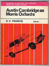 Austin Cambridge A60 - Morris Oxford VI Servicing Book