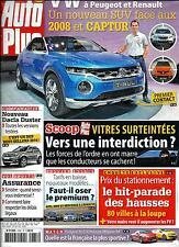 AUTO PLUS N°1333 21 MARS 2014  CROSSOVER VOLSKWAGEN/ PRIX STATIONNEMENT/ DUSTER
