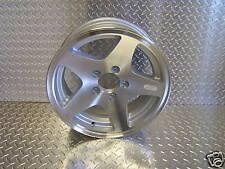 """(2) 12"""" 5 Star Aluminum Trailer Rims Cargo  Wheels w/ caps/nut"""