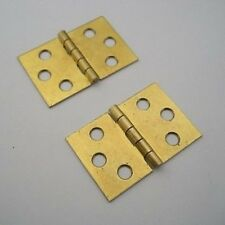 "Piano Bench Hinges - One Pair 1-1/4"" x 1-1/8"""