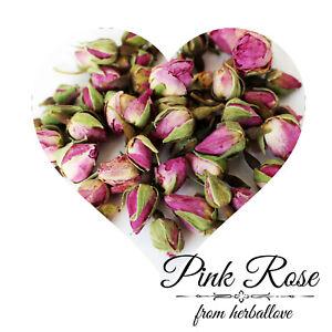 Pink Rose Buds 200g Paczki różowej róży Ροζ τριανταφυλλιά Premium Quality Aroma