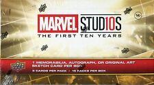 Marvel Ten [10] Years Factory Sealed Hobby Box