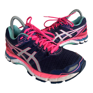 Asics GT 3000 Womens Size 8.5 Purple Pink Athletic Trail Running Shoes Sneakers