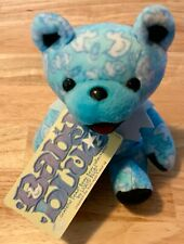 Grateful Dead 'Baby Blue', dancing marching beanie bear liquid blue plush 7� boy