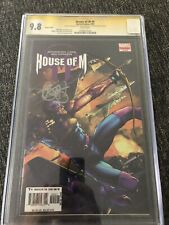 House Of M 4 Variant 9.8 CGC Signed By Brian Michael Bendis