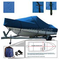 Sea Pro SV 1700 CC Center Console Trailerable Fishing Boat Cover Blue