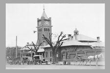 NSW - WAGGA WAGGA Courthouse c 1925 modern digital Photo Postcard