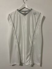 AND1 White BASKETBALL VEST TOP MENS SIZE M
