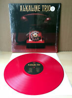 ALKALINE TRIO Is This Thing Cursed RED vinyl LP 2018 Bad Religion Green Day NOFX