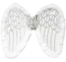 Weiße Glitzerflügel, Engelsflügel Engel Glitzer Flügel 50x 40cm weiß Weihnachten