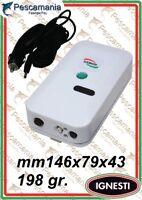 ossigenatore Ignesti 2 velocità silenzioso + adattatore auto 12volt