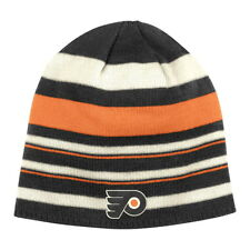 PHILADELPHIA FLYERS NHL WINTER CLASSIC CUFFLESS REV KNIT BEANIE HAT CAP TOQUE