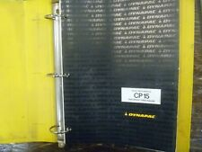 Dynapac CP15 Pneumatic Compactor Roller Factory Parts Catalog Manual