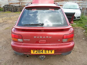 SUBARU IMPREZA CLASSIC WAGON REAR WIPER MOTOR IN GOOD WORKING ORDER