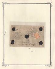 Nepal #42 Registrado Correo sobre Lacre Se Sella , 1935 Londres Estampado