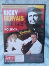 RICKY GERVAIS LIVE 1 + 2--POLITICS & ANIMALS (2 DISC BOXSET) DVD MA R4