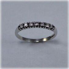 9 carat White Gold Seven stone Diamond Eternity Ring