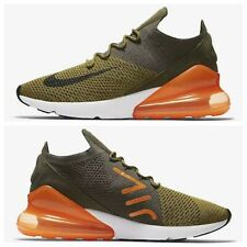 cheap for discount 7858c 4ee07 NIKE AIR MAX 270 FLYKNIT OLIVE FLAK BLACK CARGO KHAKI AO1023-301 MEN S SIZE  10