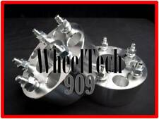 "1"" WHEEL SPACERS ADAPTERS 5X5.5 = 5X139.7MM 108 BIG BORE FORD DODGE JEEP CJ 5LUG"