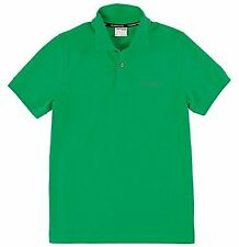 Men's Medium Green PORSCHE POLO - WAP81200L0F