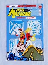 Justice League Featuring Elementals No. 4 Aug 1986 Comic First Printing NM (9.4)