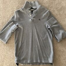 Abercrombie and Fitch Long Sleeve Polo Mens M