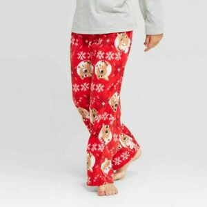Size 5. Unisex Christmas Pajama Pants Unisex Reindeer Flannel Pajamas Handmade Sleepwear
