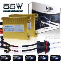 55W H11 9006 9005 9007 Xenon HID Headlight High Low Beam Bright Conversion Kit