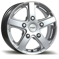 """15"""" SILVER ALLOY WHEELS  FIAT DUCATO MOTORHOME MERCEDES VW COMMERCIAL LOAD RATED"""