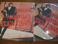 johnny hallyday roug town  lp 33 tours picture