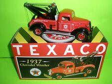 TEXACO ETHYL OIL 1937 CHEVROLET TOW TRUCK WRECKER FIRST GEAR DIECAST #19-2584