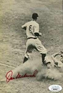 Joe Medwick JSA Coa Hand Signed 5x7 Photo Autograph