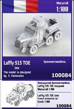 """ZEBRANO"" 100084 Laffly S15 TOE late French armoured car 1/100"