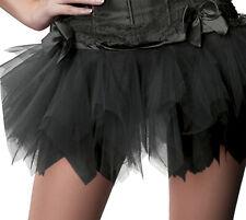 Enaguas de la enagua de Tutu Ballet vestido bolsa negra de ropa de Halloween