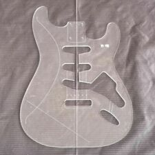 Best Electric Guitar Body Transparent Acrylic Template Guitar Making Molds