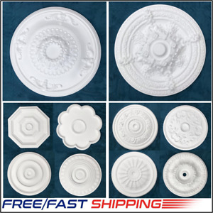 Ceiling Rose Polystyrene Easy Fit Very Light Weight Starting from £8.99 Next Day