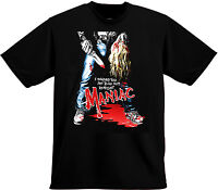 Maniac 'I Warned You Not To Go Out At Night' 1980 Horror Movie SHIRT