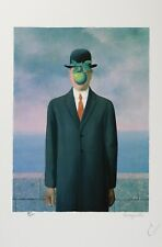 René Magritte - Son of Man (lithograph, plate-signed & numbered)