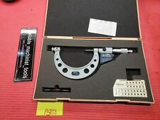 EXCELLENT MITUTOYO Digital Thread outside Micrometer 3-4 Resolution .0001 (P500)