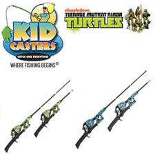 """Kid Casters Tangle-Free 29"""" Telescopic Kids Fishing Combo (Select Color)"""