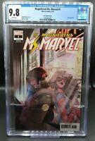 Magnificent Ms. Marvel #1 CGC 9.8 Tarr Variant KAMALA KHAN Disney Plus + MCU 🔥